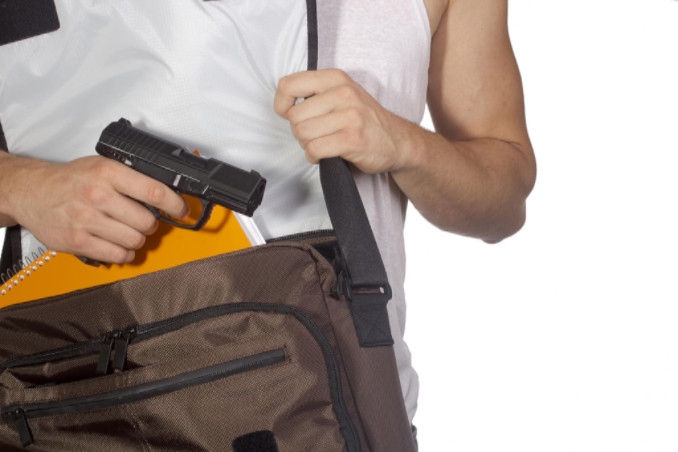 student with gun: LawteryX Criminal Law Blog