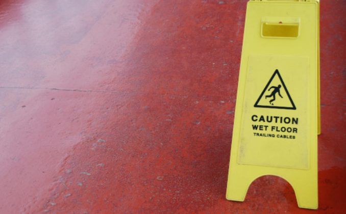 slip and fall accidents with the elderly