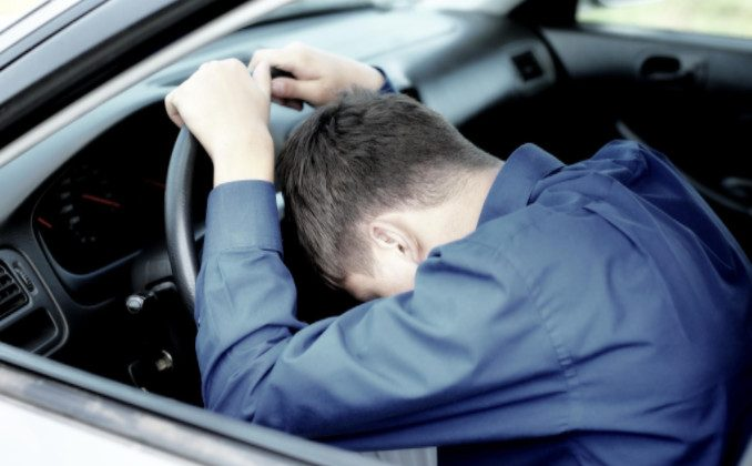 dangers of driving fatigued