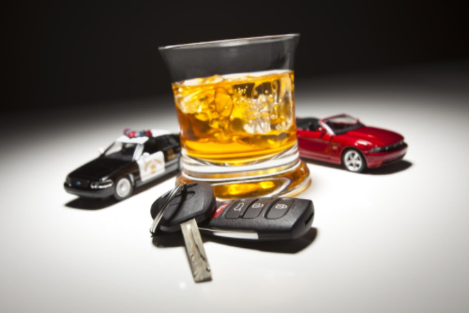 Liquor with toy cars: LawteryX Traffic DWI DUI Blog