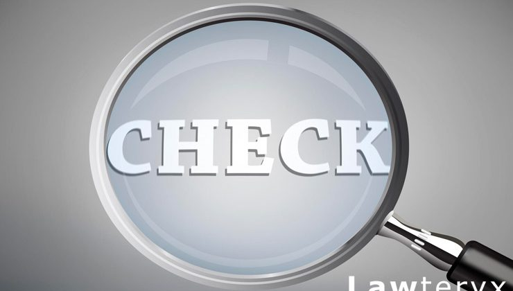 "magnifying glass on the word ""Check"""